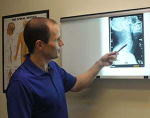 Dr. Todd Hartwig Xray Chiropractor Portland