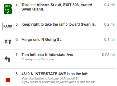 Directions To Our Chiropractic Clinic From North