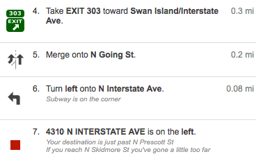 Directions To Our Chiropractic Clinic From South