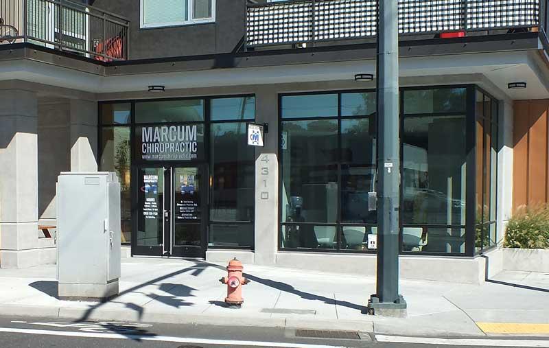 Marcum Chiropractic Front Street View