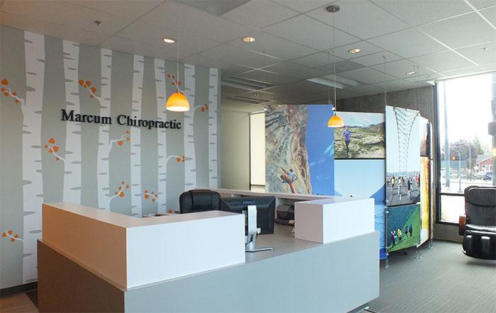 Marcum Chiropractic Reception Area