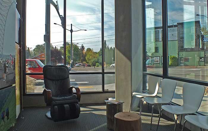 Marcum Chiropractic Waiting Room