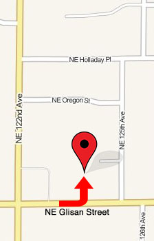 Map To Marcum Chiropractic Clinic In North Portland, Oregon