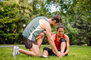 Another Sports Injury Treated At Marcum Chiropractic Clinic